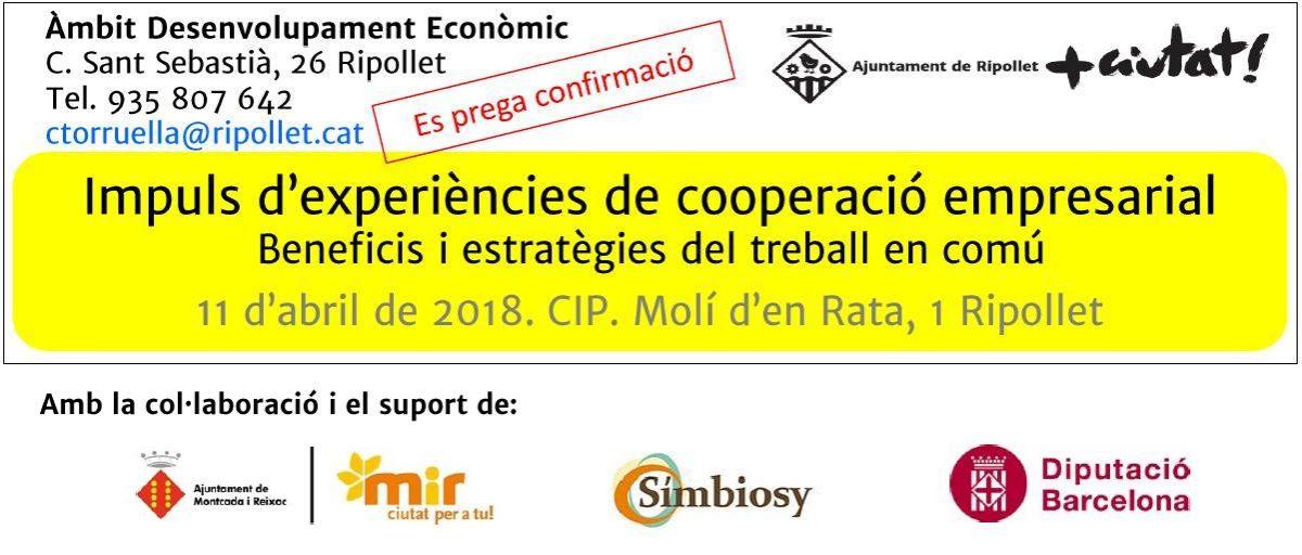 Impuls d'experiències de cooperació empresarial